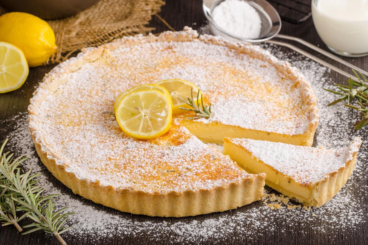 Quick and Easy Lemon Tart