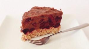 Raw Cherry Ripe Cake